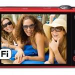 Kodak EasyShare M750 Wireless Camera - Rear LCD Display