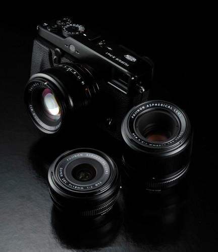 Fujifilm X-Pro1 With New XF Fujinon Lenses
