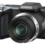 Olympus SP-620UZ Ultrazoom - Right Front View