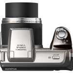 Olympus SP-620UZ Ultrazoom - Top - Silver
