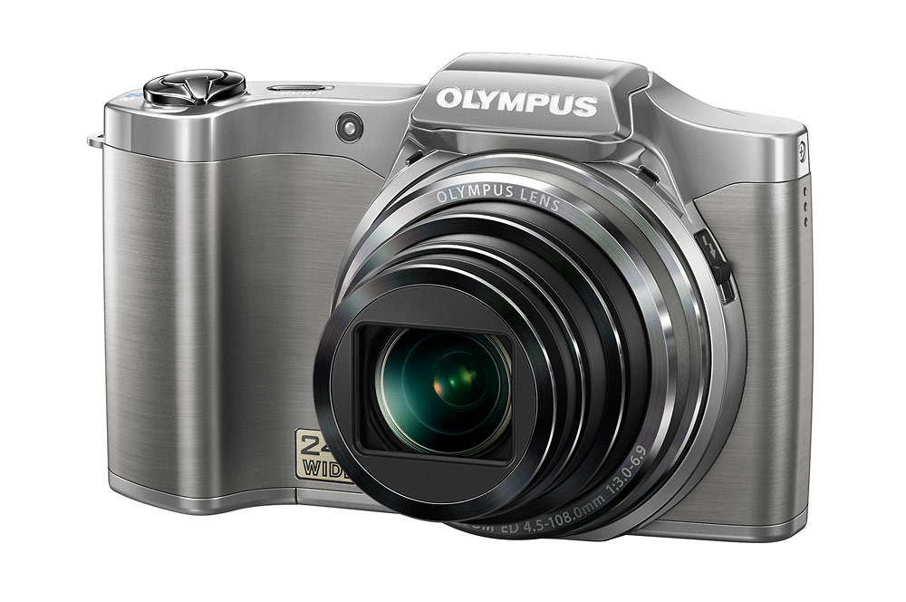 Olympus SZ-12 Superzoom Camera - Right