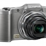 Olympus SZ-12 Superzoom Camera - Left