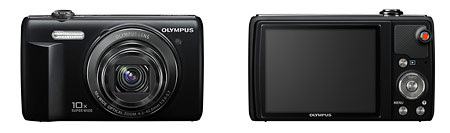 Olympus VR-340 Pocket Superzoom Camera