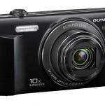 Olympus VR-340 Pocket Superzoom Camera - Left Front