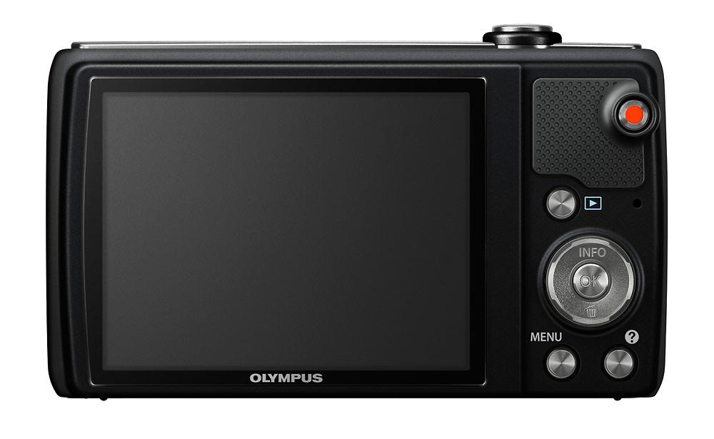 Olympus VR-340 Pocket Superzoom Camera - Rear LCD