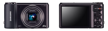 """Samsung WB850F WiFi """"Smart Camera"""" With 21x Zoom Lens"""