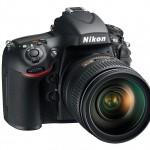 Nikon D800 Digital SLR - Right Front
