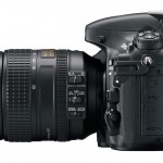 Nikon D800 - Side View