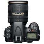 Nikon D800 - Top View