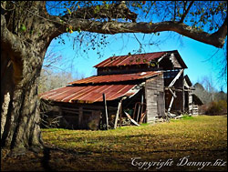 Grandfather's Barn Photo - by danny wdr