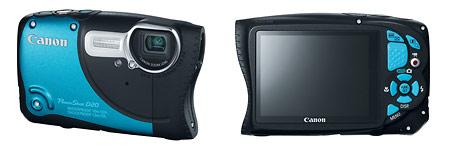 Canon PowerShot D20 Waterproof, Shockproof Camera