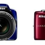 New Nikon Coolpix L810 & L26 Digital Cameras