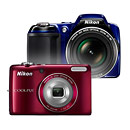Nikon Coolpix L810 26x Superzoom and L26 Budget Camera