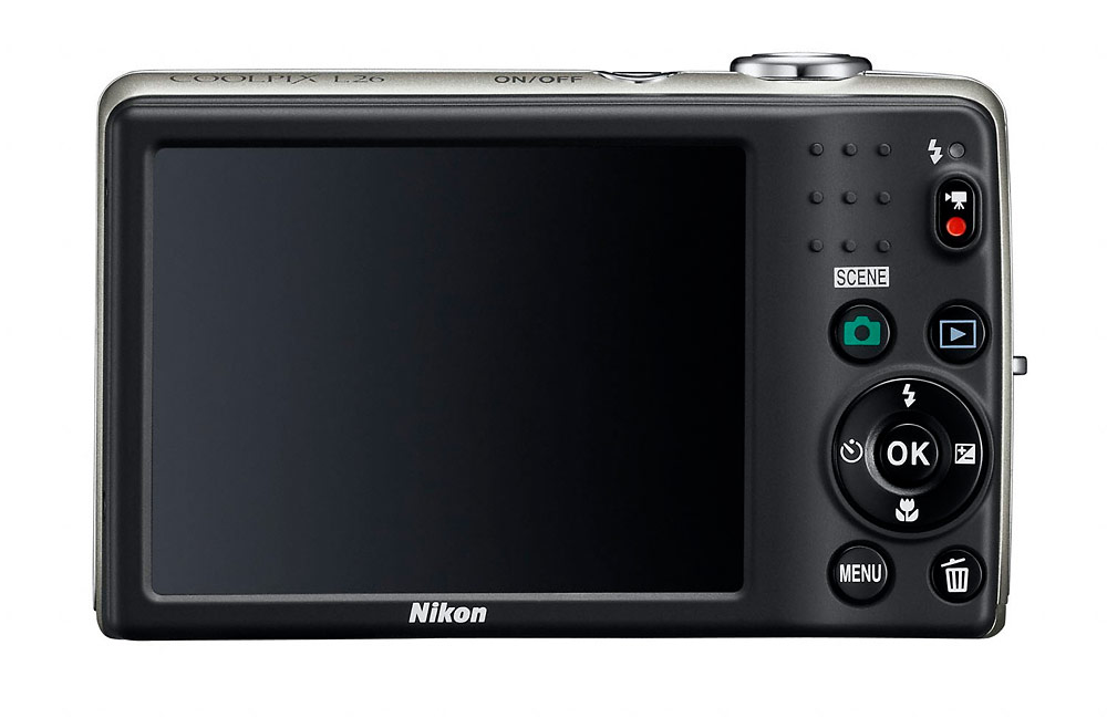 Nikon Coolpix L26 - Rear LCD
