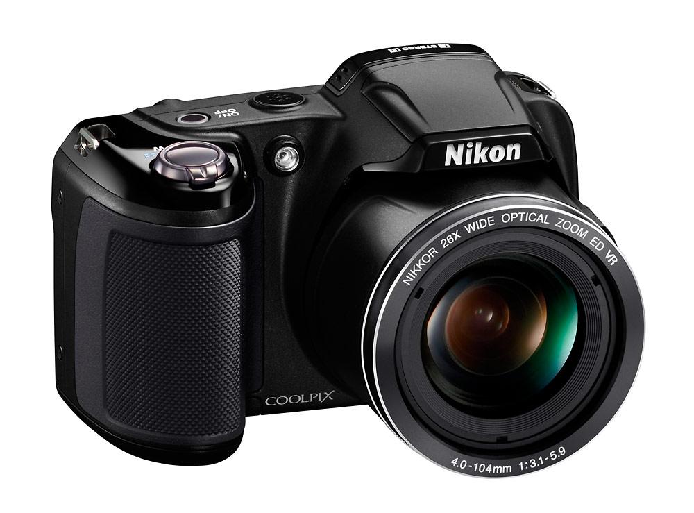 Nikon Coolpix L810 Superzoom Camera - Black