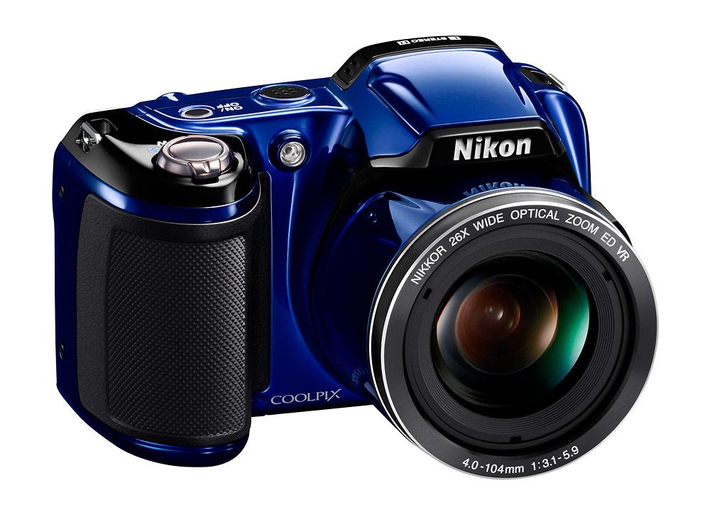 Nikon Coolpix L810 Superzoom Camera - Left Front