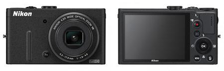 Nikon Coolpix P310 - Front & Back