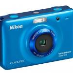 Nikon Coolpix S30 Waterproof Digital Camera - Left Front