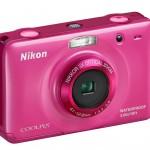 Nikon Coolpix S30 Waterproof Digital Camera - Pink