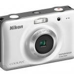 Nikon Coolpix S30 Waterproof Digital Camera - White