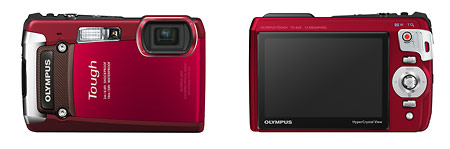 Olympus TG-820 iHS Rugged Point-and-Shoot Camera