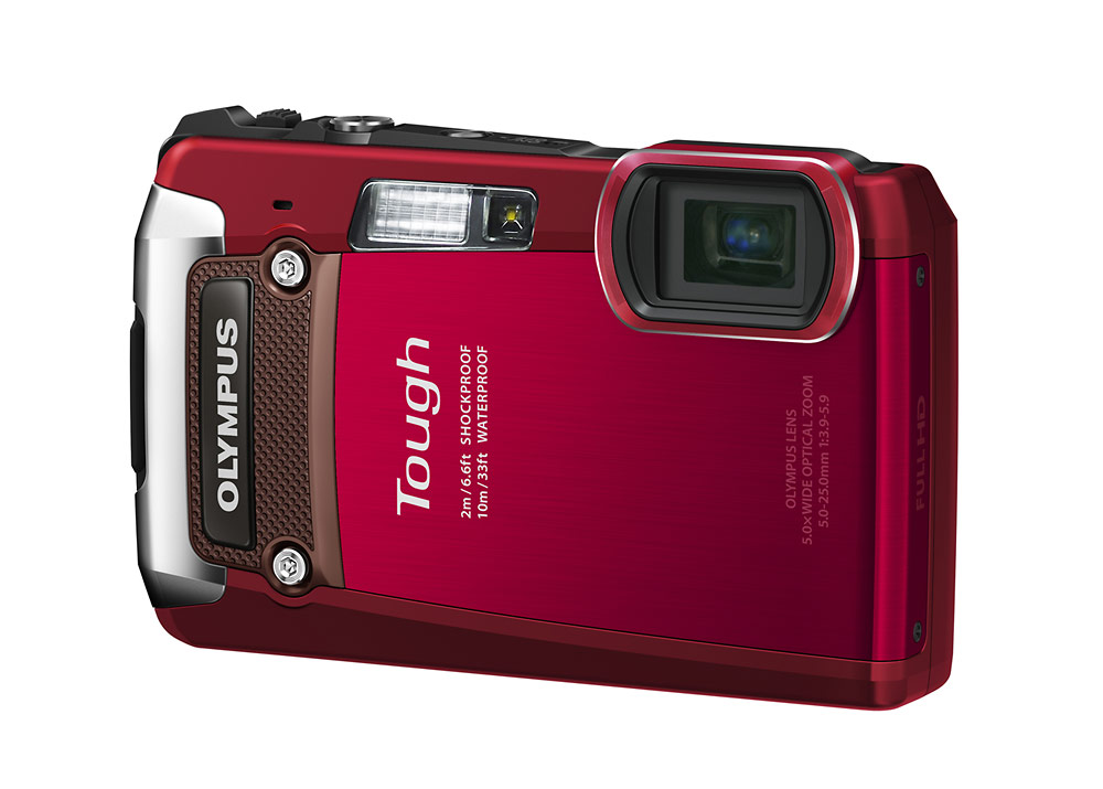 Olympus TG-820 iHS Tough Camera - Right Front