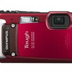 Olympus TG-820 iHS Tough Camera - Red
