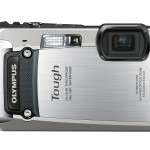 Olympus TG-820 iHS Tough Camera - Silver - Front
