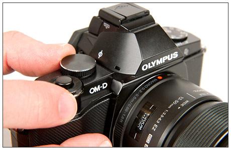 The new Olympus E-M5 OM-D Micro Four Thirds camera