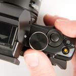 Olympus OM-D E-M5 Shutter Release & Exposure Control Dials