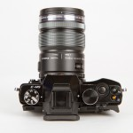 Olympus E-M5 - Top View With 12-50mm Power Zoom Lens