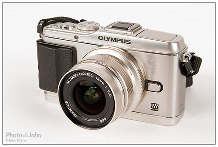 The Olympus E-P3 Pen mirrorless camera