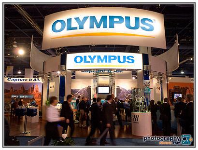 Olympus Tradeshow Booth - 2008 PMA