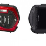 Pentax Optio WG-2 Rugged Waterproof Camera - Front & Back