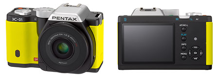 New Pentax K-01 Compact System Camera