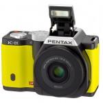 Pentax K-01 - Pop-Up Flash