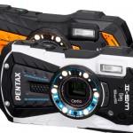 Pentax Optio WG-2 - White & Orange