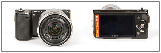 Sony Alpha NEX-5N - Front & Back