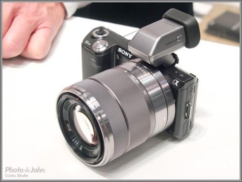 Sony Alpha NEX-5N - with EVF
