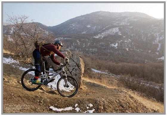 Sony NEX-5N - Winter Mountain Bike Action
