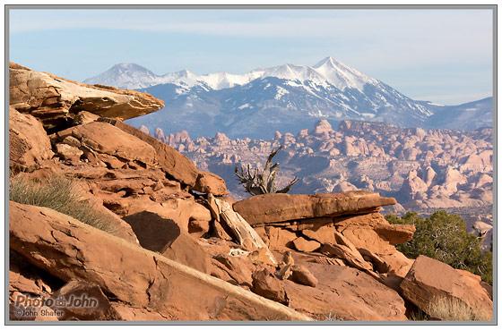 Sony NEX-5N - Moab Slickrock & La Sal Mountains