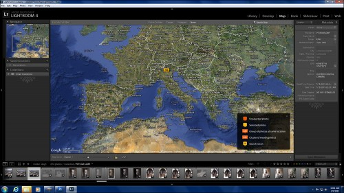 New Lightroom 4 Map Module