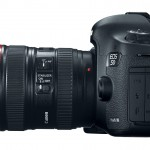 Canon EOS 5D Mark III - Side View With 24-105mm f/4L IS Lens