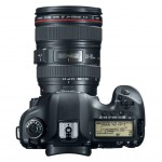 Canon EOS 5D Mark III - Top View With 24-105mm f/4L IS Lens