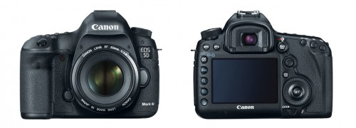Canon EOS 5D Mark III - Front & Back