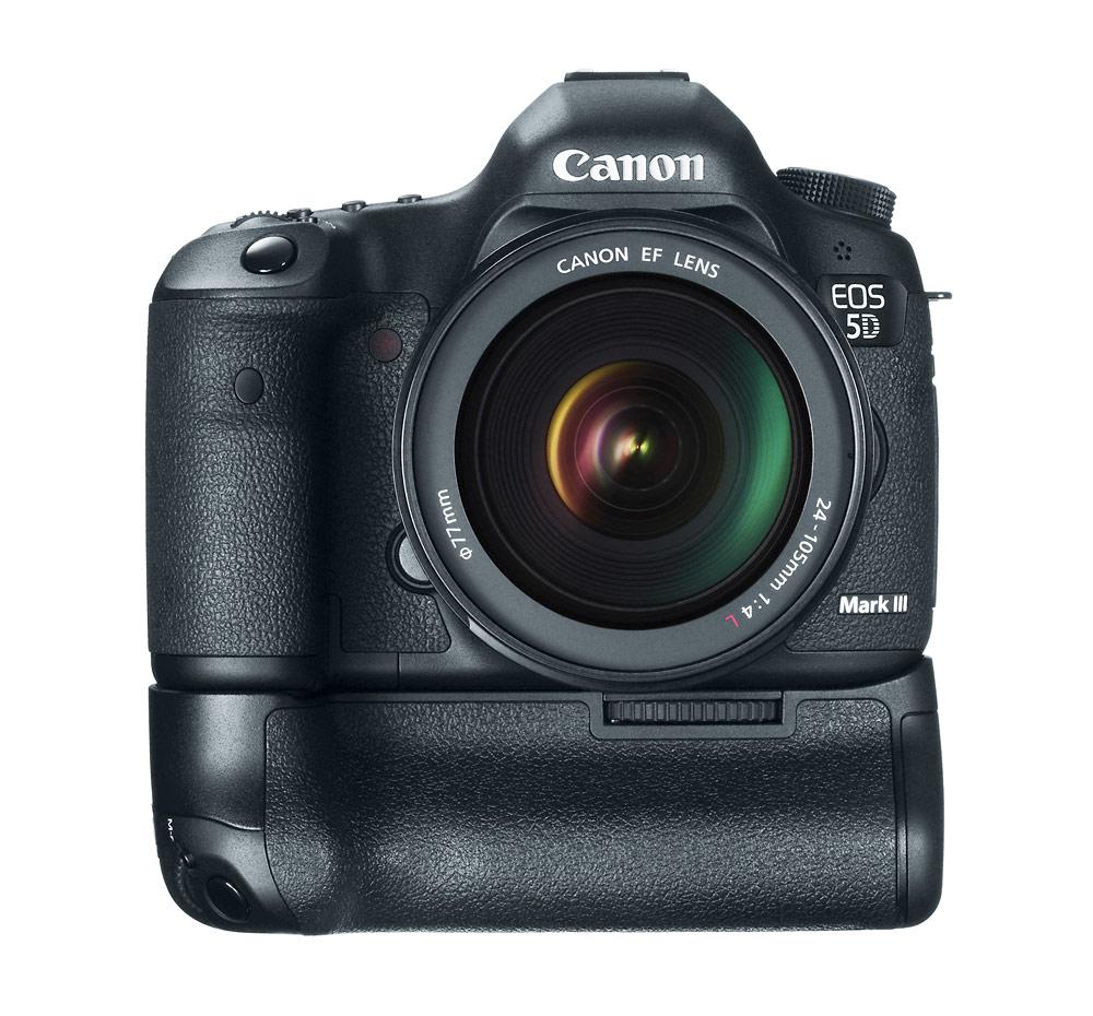 Canon EOS 5D Mark III With New BG-E11 Battery Grip