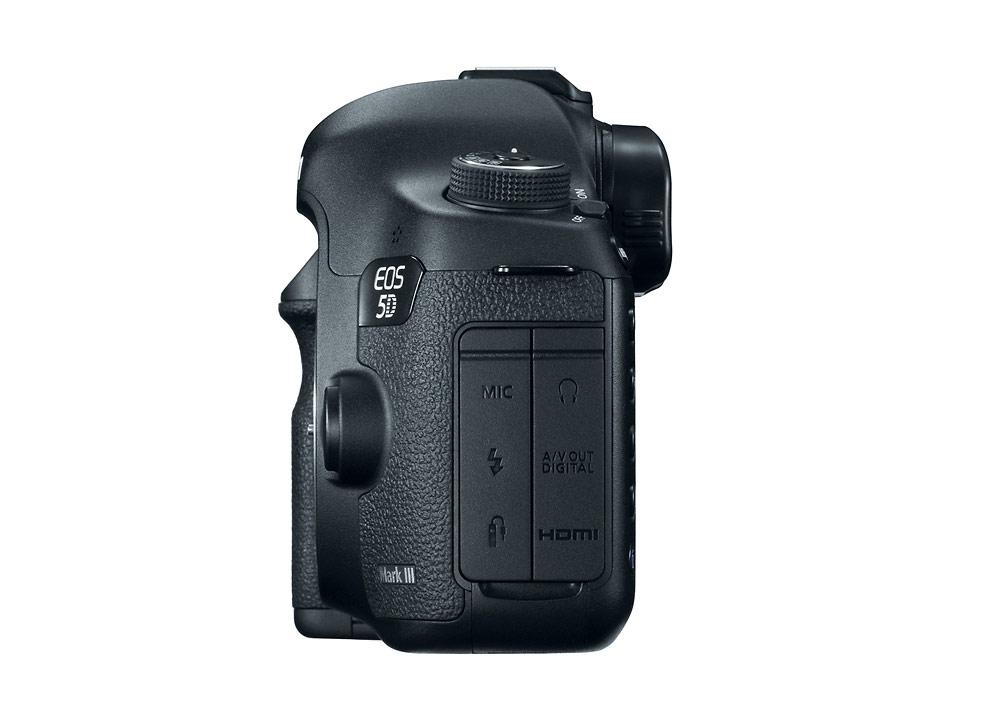 Canon EOS 5D Mark III Left Side & Terminal Cover