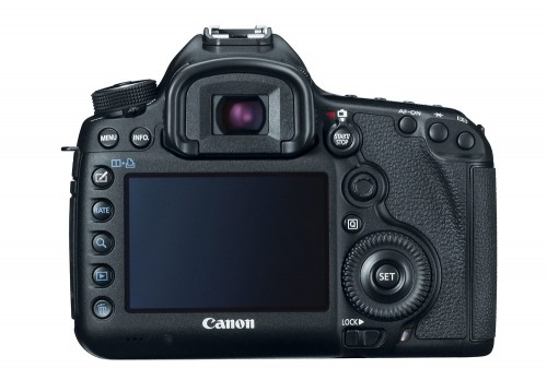 Canon EOS 5D Mark III - Rear LCD & Controls