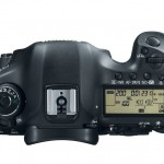 Canon EOS 5D Mark III Top View