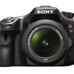 Sony Alpha SLT-A57 - Front View